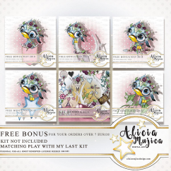 FREE Bonus Tropical Birds by Alicia Mujica May 2018