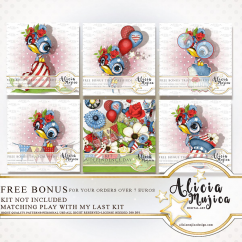 FREE Bonus tropical Birds June 2018 by Alicia Mujica