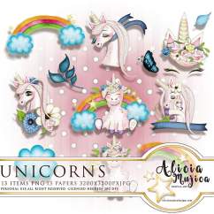 Unicorns by Alicia Mujica 2018
