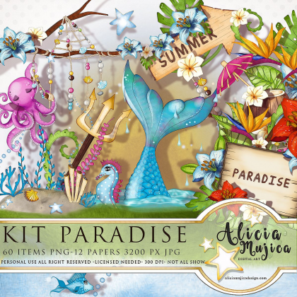 Kit Paradise by Alicia Mujica 2018