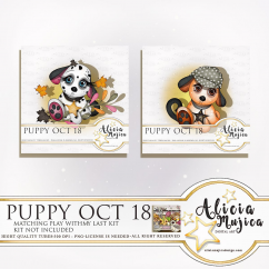 Puppy Oct by Alicia Mujica 2018