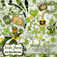 Kit irish sense by Alicia Mujica 2016