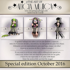 Special edition October by Alicia Mujica 2016