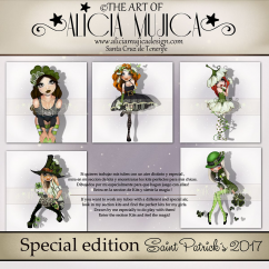 Saint Patricks Special edition by Alicia Mujica 2017