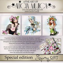 Spring special edition by Alicia Mujica 2017