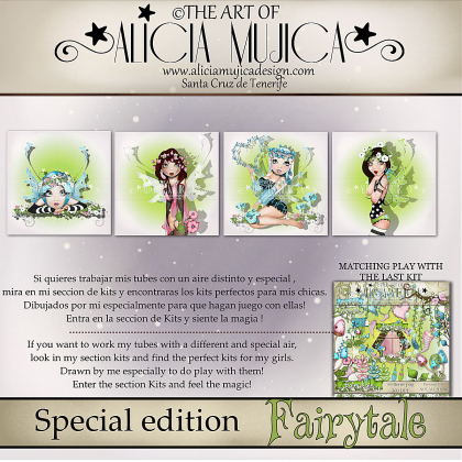 Fairytale Special edition by Alicia Mujica 2017