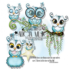 FREE Bonus Owl may by Alicia Mujica 2017