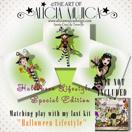 Special Edition Halloween Lifestyle by Alicia Mujica 2017