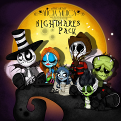 Nightmare Pack by Alicia Mujica 2017