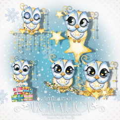 December owls 2017 by Alicia Mujica