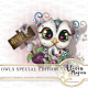 Owls special Edition by Alicia Mujica May 2018