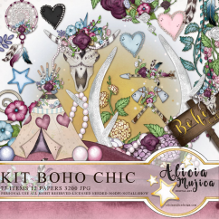 Kit Boho Chic by Alicia Mujica 2018