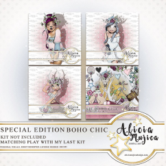 Boho Chic Special Edition by Alicia Mujica 2018