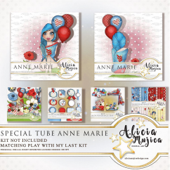 Special Tube Anne Marie by Alicia Mujica 2018
