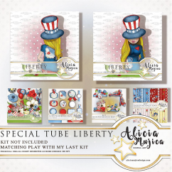 Special Tube Liberty by Alicia Mujica 2018