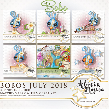 Bobos July 2018 by Alicia Mujica