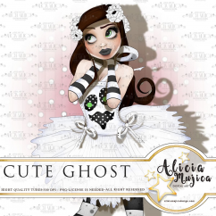 Cute Ghost by Alicia Mujica 2018