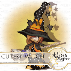 Cutest Witch by Alicia Mujica 2018
