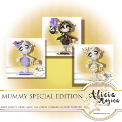 Mummy special edition by Alicia Mujica 2018
