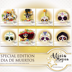Sugar skull special edition by Alicia Mujica 2018
