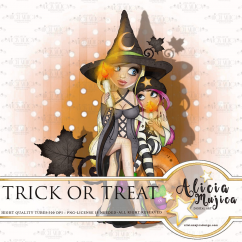 Trick or treat by Alicia Mujica 2018