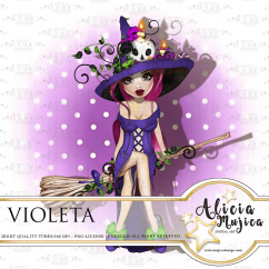 Violeta by Alicia Mujica 2018