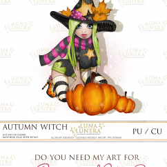 Autumn Witch by Luna Lunera 2018