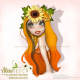 Clipart - Character Sunny by Alicia Mujica