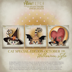 Cat Special edition October 2019 by Alicia Mujica Halloween Mod