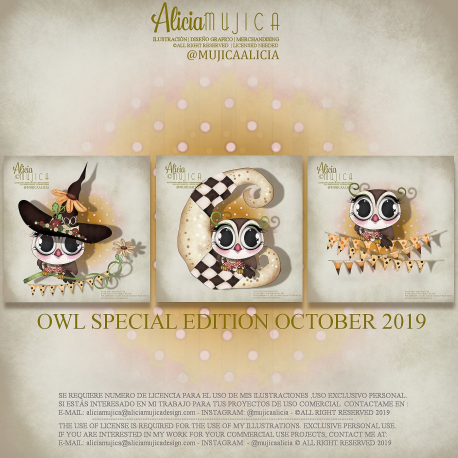 Owls Special edition October 2019 by Alicia Mujica