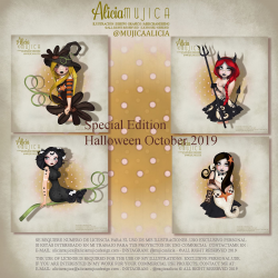 Special Edition Halloween October 2019 by Alicia Mujica