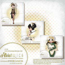 Flappers special edition by Alicia Mujica