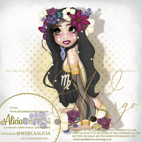 Special tube Virgo by Alicia Mujica 2020