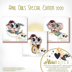 April Owls by Alicia Mujica 2020