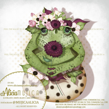 Green Toad by Alicia Mujica 2020