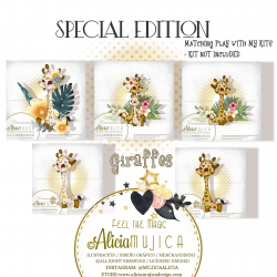 Giraffes Special edition by Alicia Mujica 2020