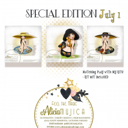 July Special edition girls 1 By Alicia Mujica