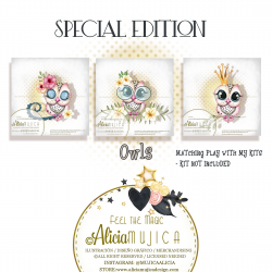 Owls July Special edition by Alicia Mujica 2020