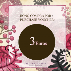 Shopping Voucher 3 Euros Alicia Mujica