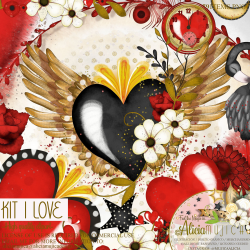 Kit I love by Alicia Mujica 2021