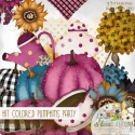 Kit Colored pumpkins party by Alicia Mujica 2021