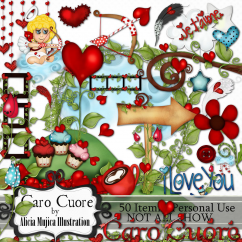 Kit Caro Cuore by Alicia Mujica 2016