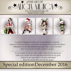 December special edition by Alicia Mujica 2016