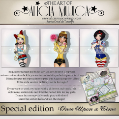 Special edition Once upon a Time by Alicia Mujica 2017